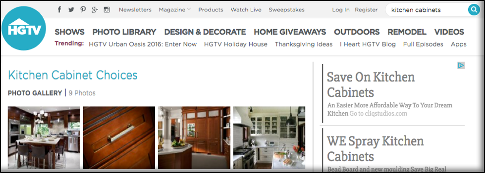 How to Make a Digital Scrapbook of Your Kitchen Ideas