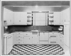 Kitchens With a Sense of 1930's Style